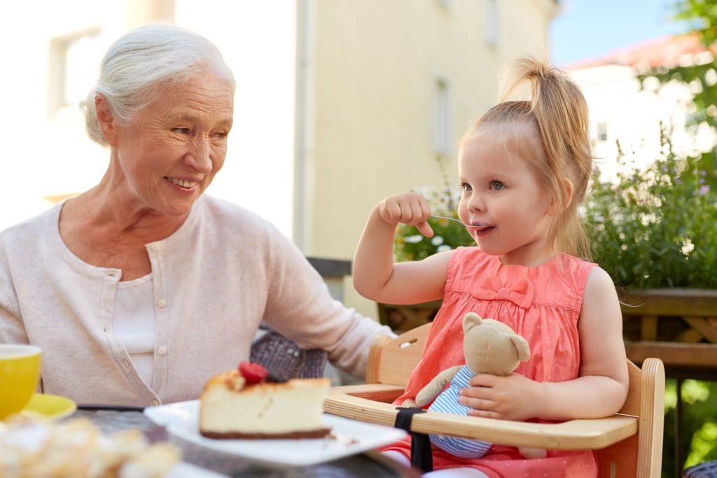 a avó faz bem aos netos