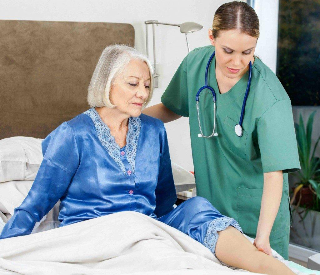 úlceras em idosos acamados