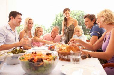 almoço de domingo em família