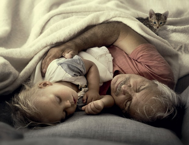 amor e carinho dos avós