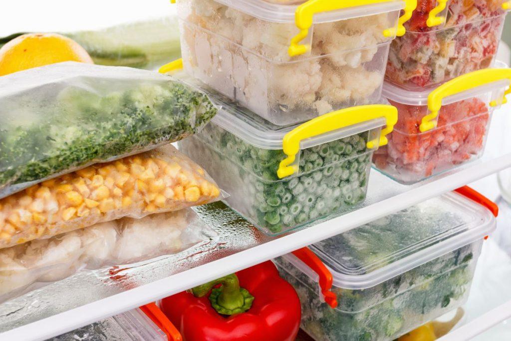 como congelar alimentos idosos