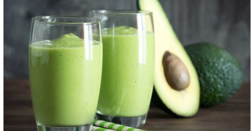 vitamina de abacate para terceira idade