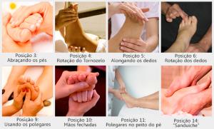 como fazer massagem nos pés na terceira idade