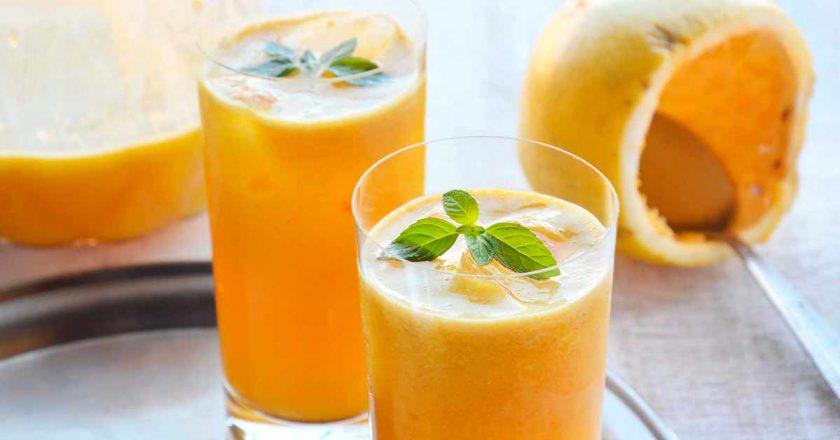 suco de maracujá com limão para terceira idade