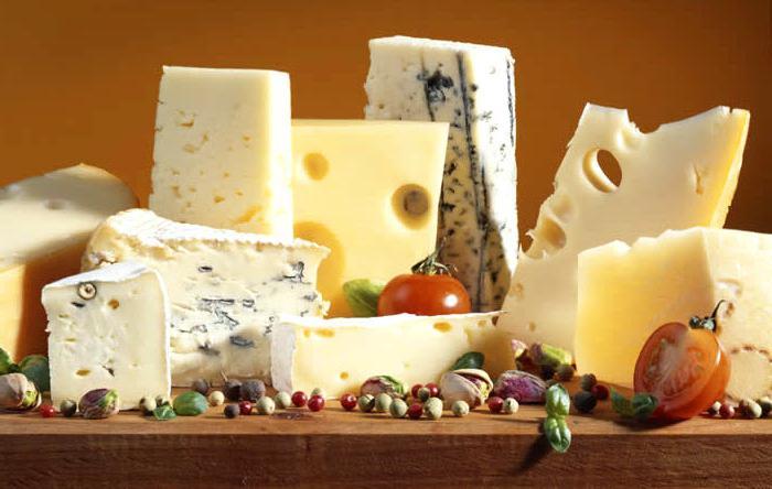 os queijos mais vendidos no mundo