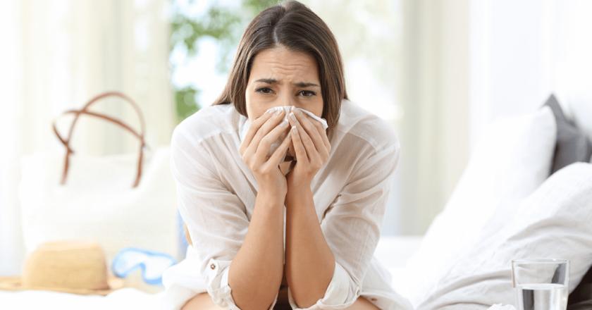 sucos e chás para gripe e resfriado