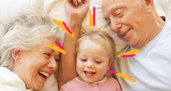 existem mais avós no mundo do que netos