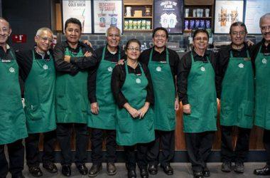 inclusão de idosos no mercado de trabalho Starbucks México