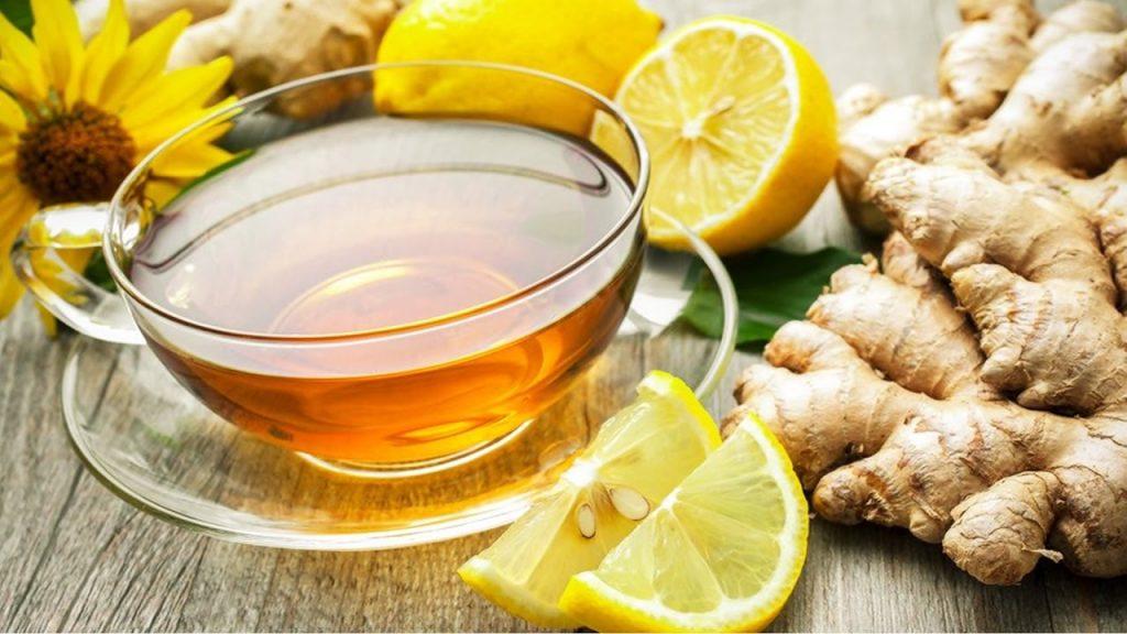 chá de gengibre para gripe e resfriado na terceira idade