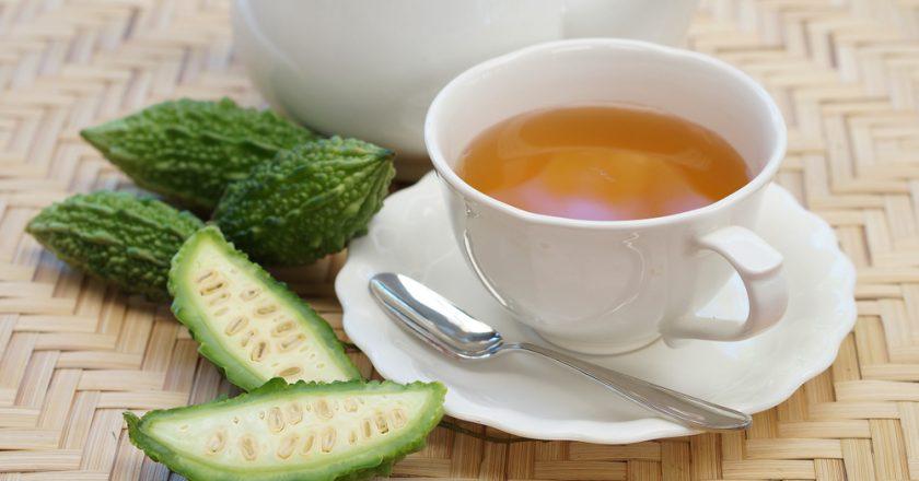 Chá de melão de são caetano