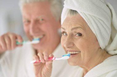 higiene bucal na melhor idade