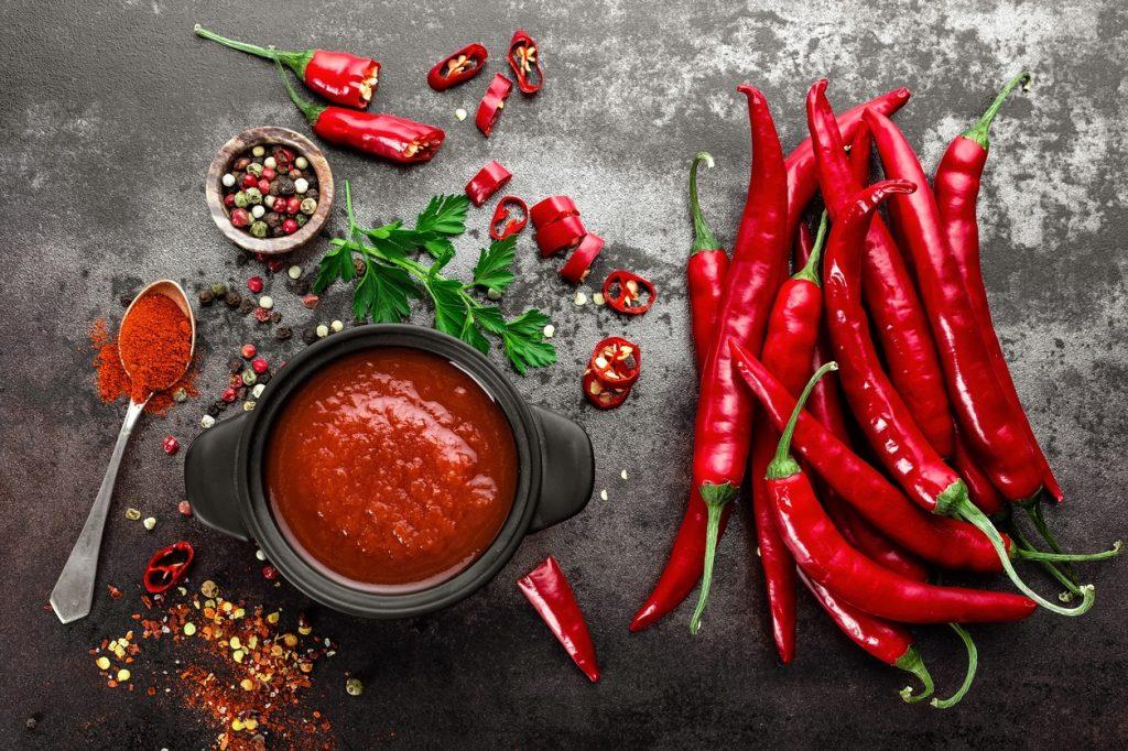 os benefícios da pimenta