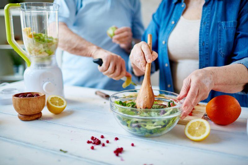 alimentação ideal para idosos