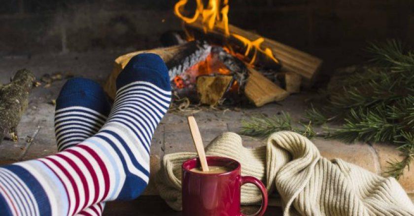 Pantufas que vão aquecer os seus pés