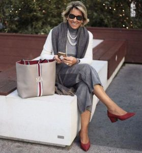 calça alfaiataria para mulher madura