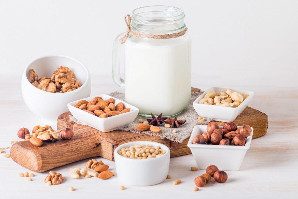 os benefícios e tipos de leite