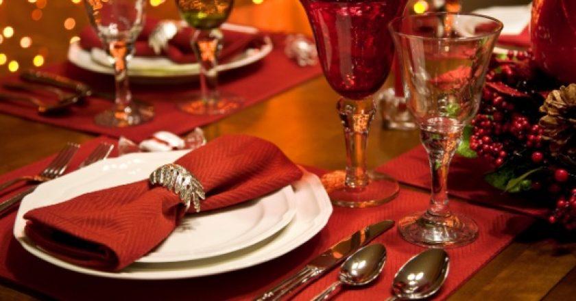 mesa de ceia de natal